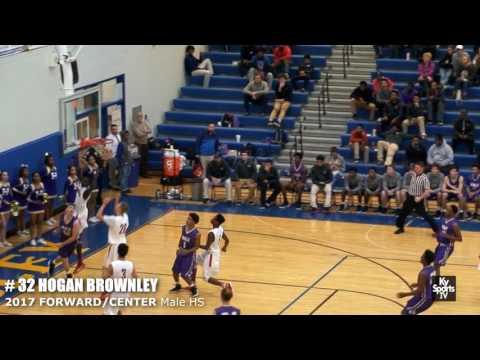 Hogan Brownley - 2017 Forward/Center Male HS 2017 LIT