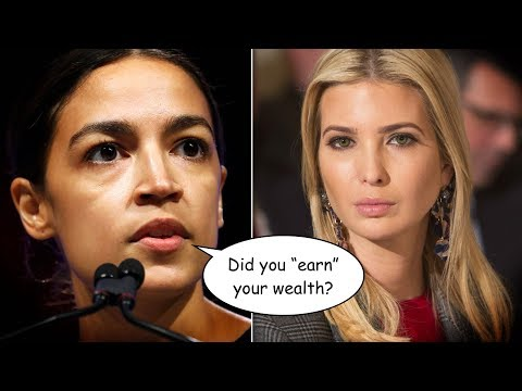 Ivanka Trump Gets Schooled by Ocasio-Cortez for Richsplaining 'Handouts'