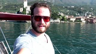Speedboating and Exploring the Castles of Lake Garda, Italy
