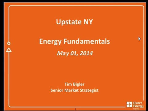 Hess Energy Marketing & Direct Energy Business's NY Market Update Webinar - May 1, 2014