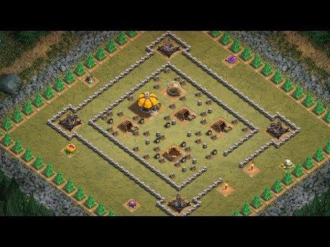 SKELETON RUN ☆ Clash of Clans ☆ Single Player ☆ Goblin Maps 3 Star Walkthrough