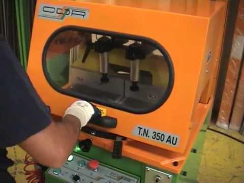 CDR Maquinaria Aluminio, Hierro y PVC - Tronzadora TN-350/AU