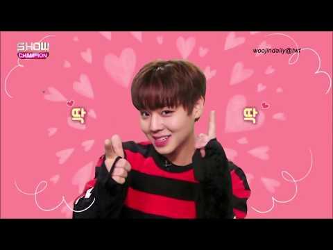 Wanna One Jihoon Aegyo, Sexy Abs, English, Wink Moments