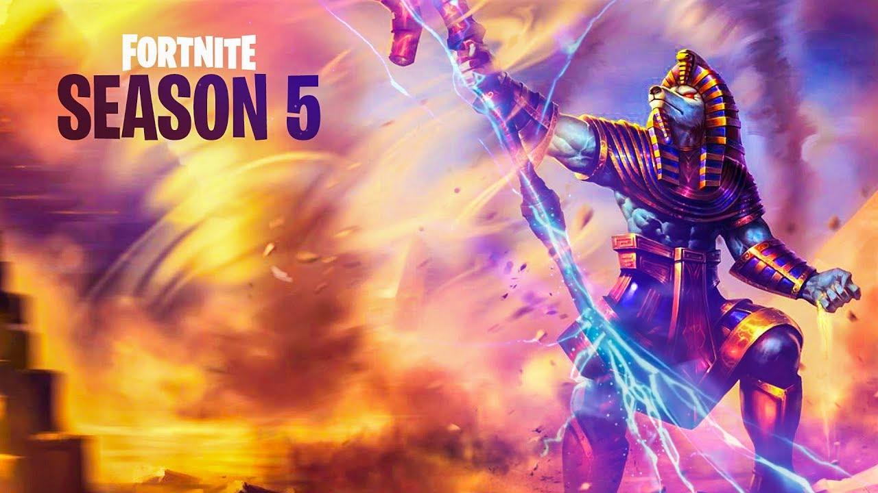 Fortnite Season 5 Blitze
