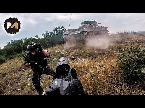 видео: НА НАС ЕДЕТ БРОНЕТЕХНИКА. СТРАЙКБОЛ. ЗАРЯ - 3 СЕРИЯ // AIRSOFT WITH TANKS