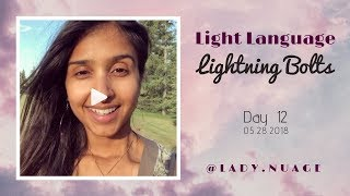 Light Language - Lady Nuage - Lightning Bolt #12