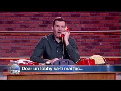Starea Naţiei: Doar un lobby să-ți mai fac...