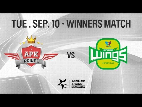 APK vs JAG | Promotion Winners Match H/L 09.10 | 2020 LCK Spring