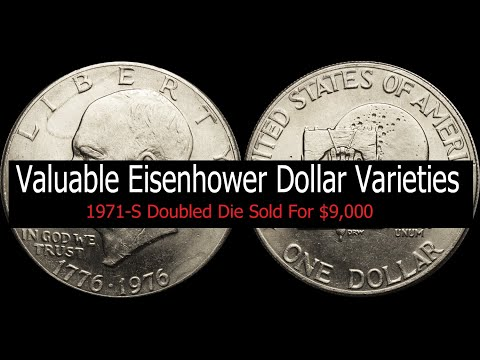 Valuable Eisenhower Dollar Varieties - Valuable Proof, Business Strike, Special Mint Ike Dollars