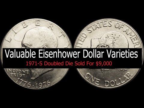 Valuable Eisenhower Dollar Varieties - Valuable Proof, Business Strike, Special Mint Ike Dollars