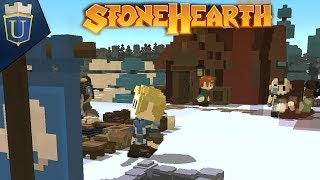 The Frozen North | Stonehearth Gameplay | Hard Mode 1
