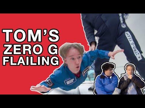Tom's Zero G Flailing