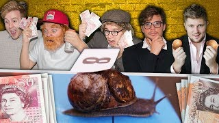 £1000 WAGER SNAIL RACE
