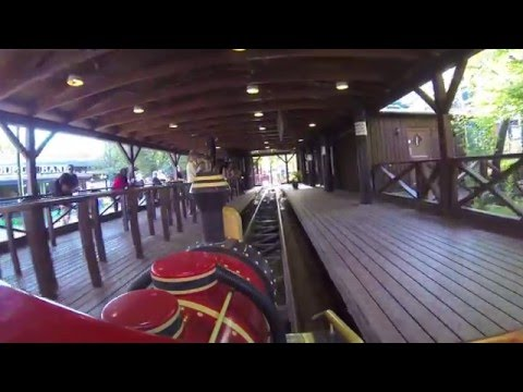 Mine Train Ulven - Bakken - Onride Mounted POV