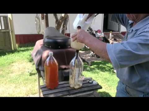 Old gasoline test