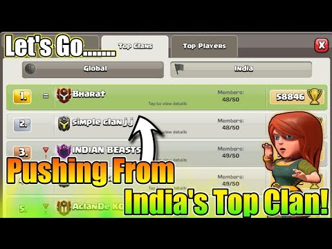 Pushing From India's Top clan💪BHARAT | I LOVE THIS CLOUDING😂