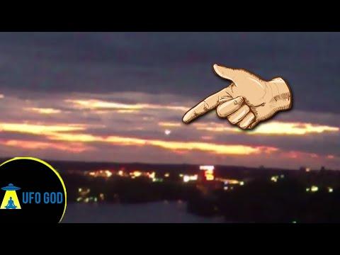 UFO sighting Stockholm Sweden | Real UFO  (The UFO God)