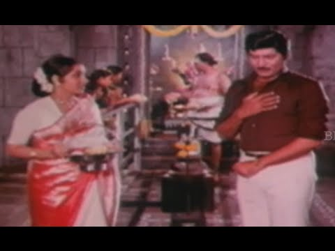 Shobhan Babu Plays A Drama With Charan Raj || Mr Bharath Full Movie Scenes