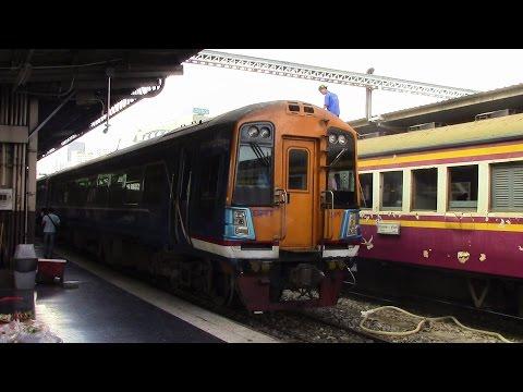 SRT Northern Line Special Exp 3 Bangkok to Ayutthaya Thailand การรถไฟแห่งประเทศไทยเหนือทางรถไฟ