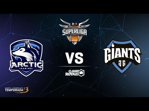 SUPERLIGA ORANGE  -  Arctic Gaming vs Giants Gaming- Jornada 3 - #SuperligaOrangeCR3