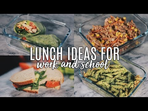 Quick healthy lunch ideas for work uk