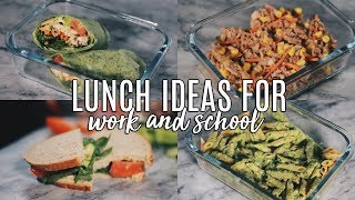 Back to School Series: 5 Healthy Lunch Ideas for Work & School