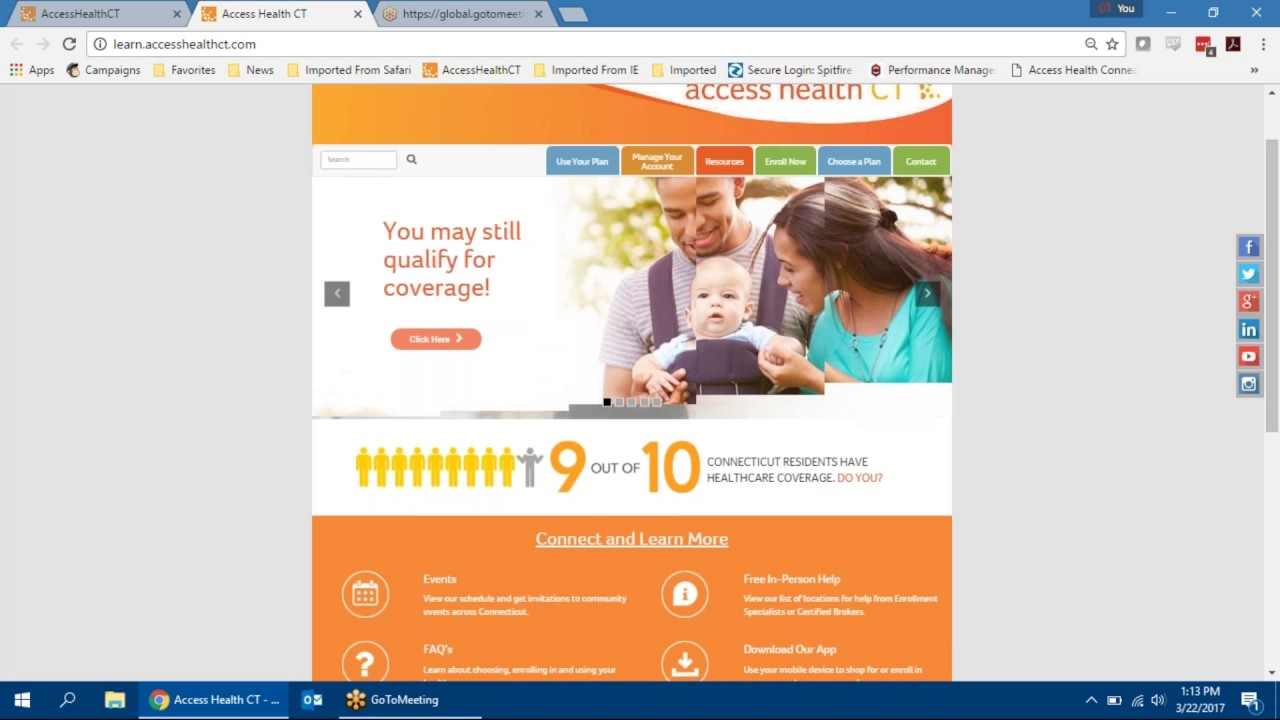 Access Health Ct Resources For Community Partners Youtube