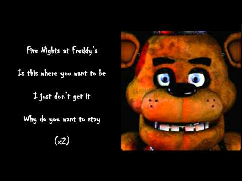 The Living Tombstone - Five Nights At Freddy's Lyrics