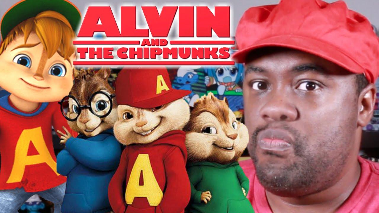 alvin and the chipmunks black nerd rants youtube