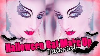 Halloween Fledermaus Makeup Tutorial |  Halloween Bat Makeup I Deutsch/ german