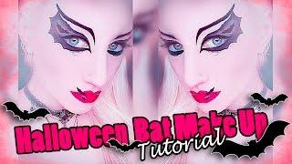 Halloween Fledermaus Makeup Tutorial |  Halloween Bat Makeup I Deutsch/ german