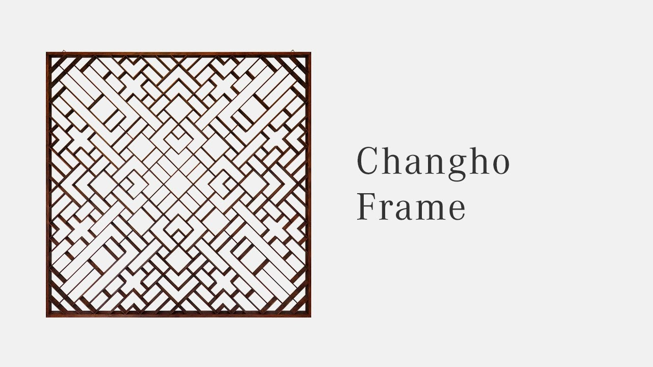 The Making of Korean Wooden Window Frame (Chang Ho) - YouTube