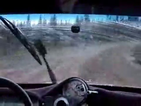 Rally Arrolla a un Ciervo (de dia) /  Rally Car Hits Deer