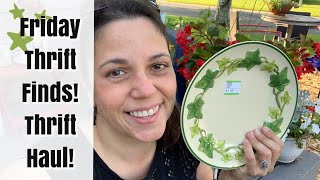 Thrift Haul! Friday Thrift Finds #17 | Vintage Home Decor Items!