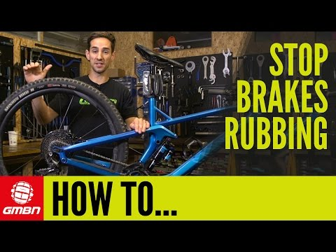 How To Stop Your Brakes Rubbing | Mountain Bike Maintenance