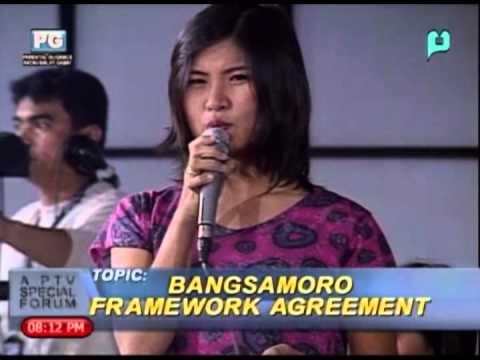 (Pt. 3/3) Bangsamoro Framework Agreement - PTV Special Forum December 11, 2013