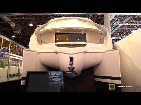 2018 Over Blue 52 Power Catamaran - Walkaround - 2018 Boot Dusseldorf Boat Show