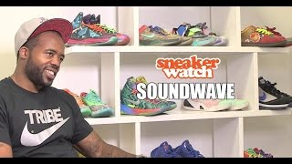 SoundWave Turned Away $100K Offer For His Sneaker Collection