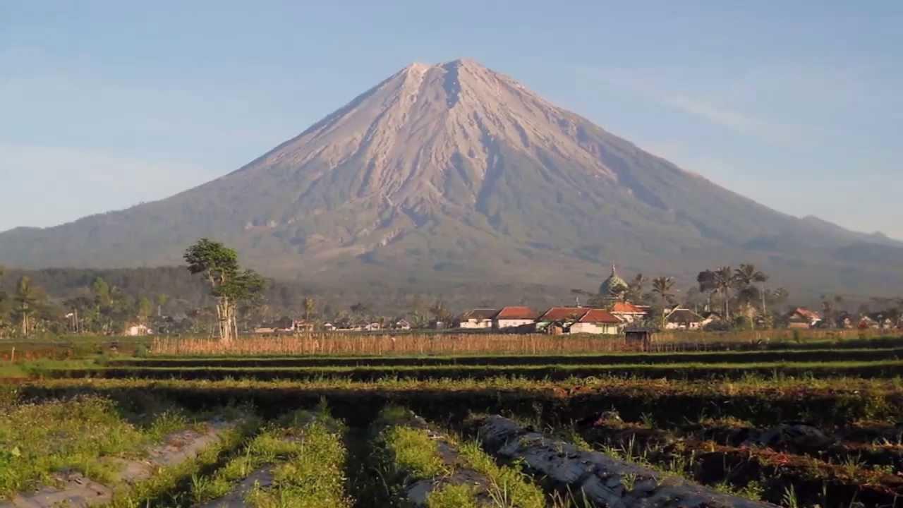 Gunung Semeru Objek Wisata Di Malang Jawa Timur Youtube