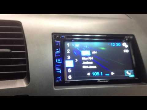 2009 Honda Civic. AVH-270bt. Bluetooth. Double Din. Steering Wheel Controls