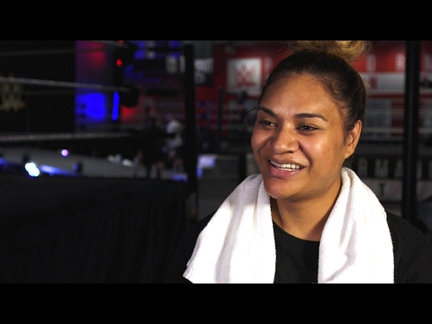 What separates Seini Draughn from WWE's female...