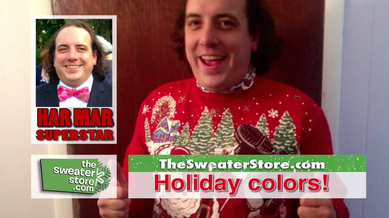 Ugly Christmas Sweaters Home Shopping Network Spoof with Paul Cram ...
