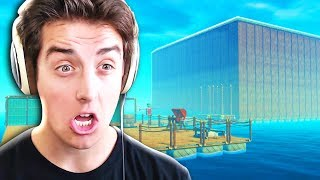 BUILDING THE ULTIMATE RAFT!! | Raft - Part 2