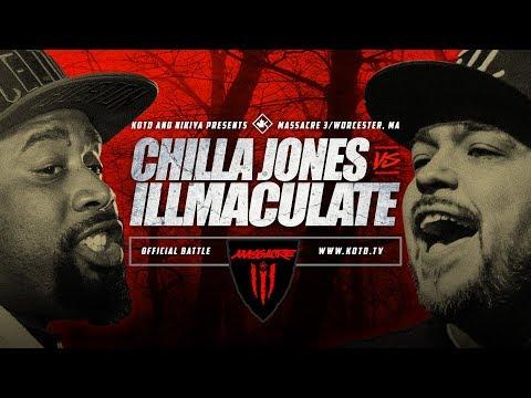 KOTD - Chilla Jones vs Illmaculate - #MASS3