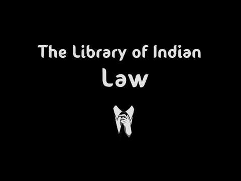 The Library of Indian Law || Logo || Law || Constitution || IPC || CRPC || Act