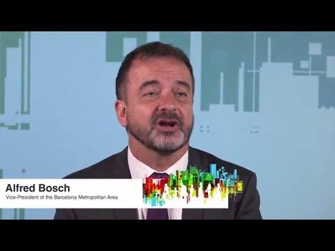 Alfred Bosch, Vice-President of the Barcelona Metropolitan Area