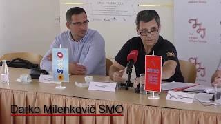 Skupna novinarska konferenca Sindikata državnih organov (SDOS), Sindikata ministrstva za obrambo (SM