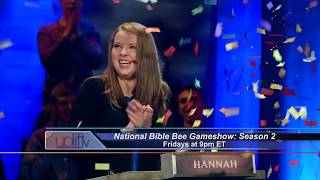 The National Bible Bee Game Show Fridays at 9PM ET
