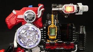 仮面ライダービルド 一本刺しでDXフルフルラビットタンクボトル使ってみた! Kamen Rider Build DX Full-Full Rabbit Tank Bottle
