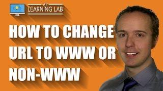 Non-WWW to WWW Redirect In WordPress - Change URL Subdomain In WordPress | WP Learning Lab